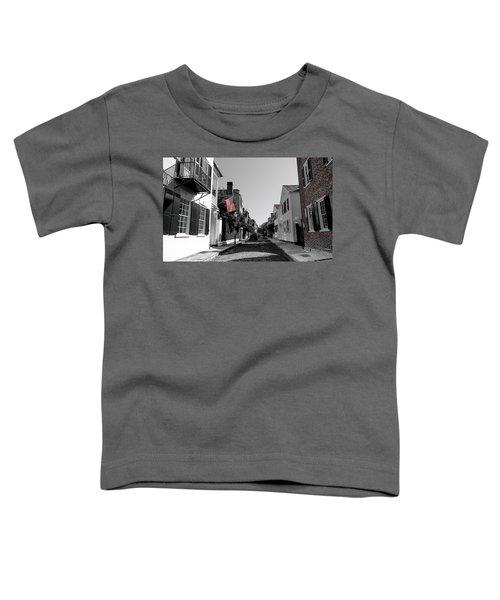 Stars And Stripes- Church St Charleston Sc Toddler T-Shirt
