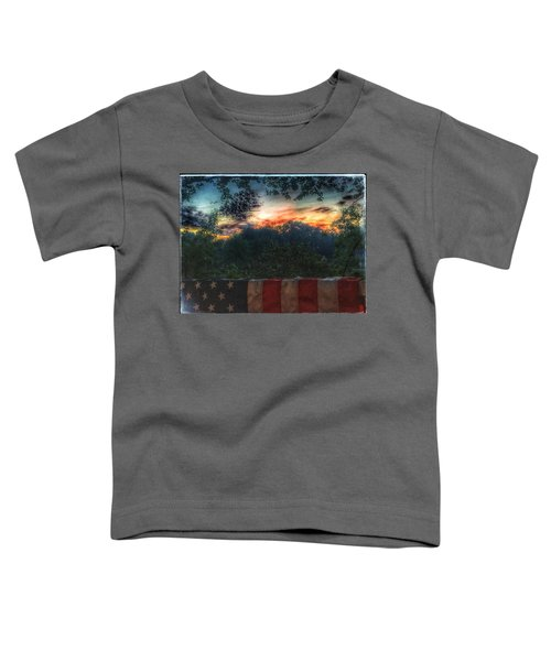 Stars Stripes And Skies Forever Toddler T-Shirt