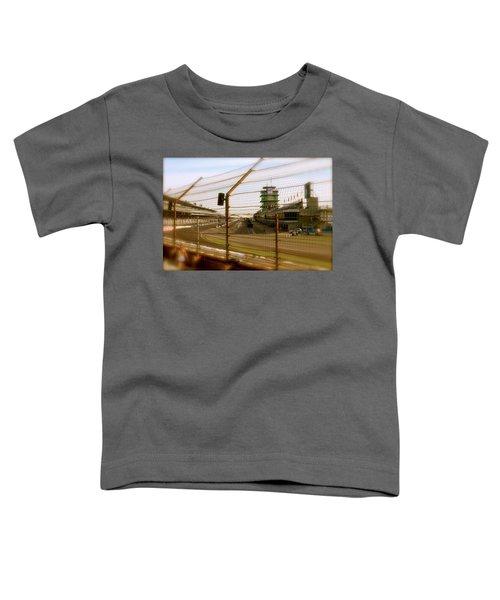 Start Finish Indianapolis Motor Speedway Toddler T-Shirt