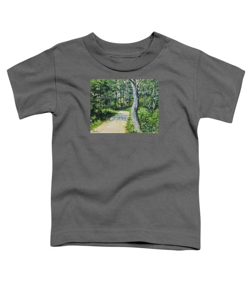 Start Of The Trail Toddler T-Shirt
