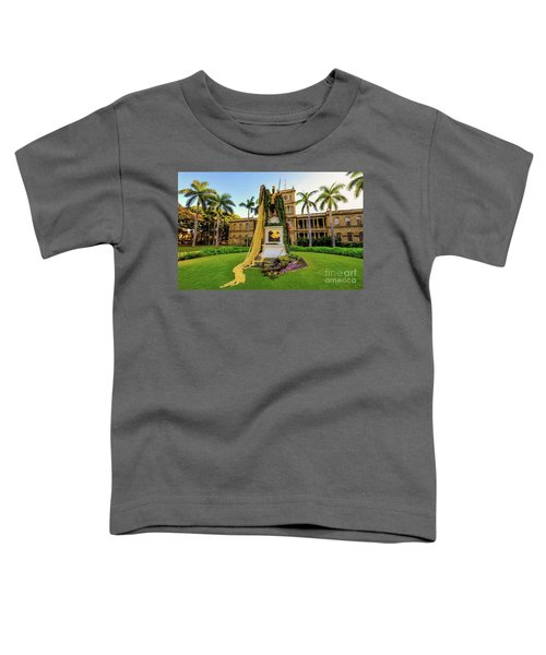Statue Of, King Kamehameha The Great Toddler T-Shirt