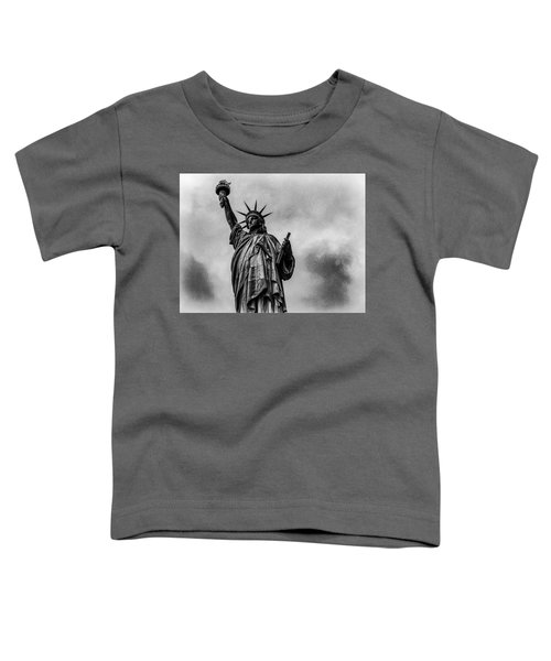 Statue Of Liberty Photograph Toddler T-Shirt