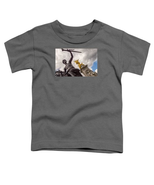 Statues In Front Of Buckingham Palace Toddler T-Shirt