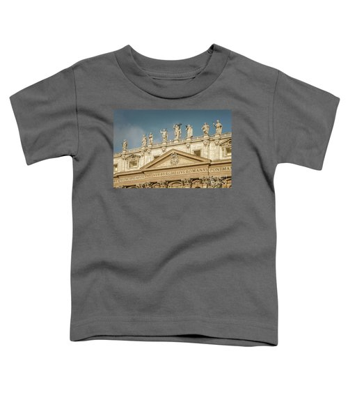 Statues Of St Peter's Basilica Toddler T-Shirt