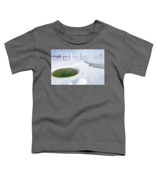 Steam And Snow Toddler T-Shirt