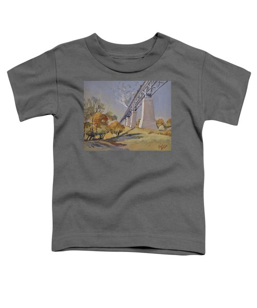 Steam Train Moresnet Toddler T-Shirt