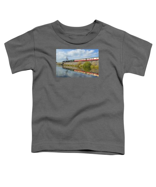 Steam Train Reflections Toddler T-Shirt