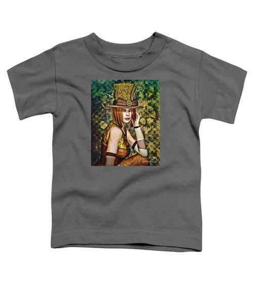 Steampunk Girl Two Toddler T-Shirt