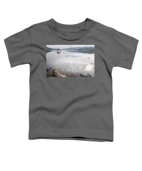 Steamship Sir Walter Scott On Loch Katrine Toddler T-Shirt