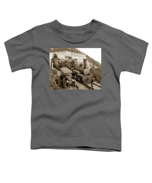Stean Engine No. 8 Mount Tamalpais Circa 1920 Toddler T-Shirt