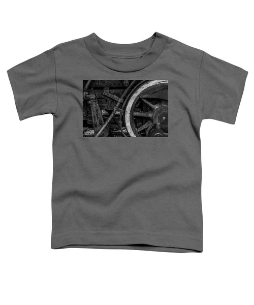 Steel Wheels In Monochrome Toddler T-Shirt
