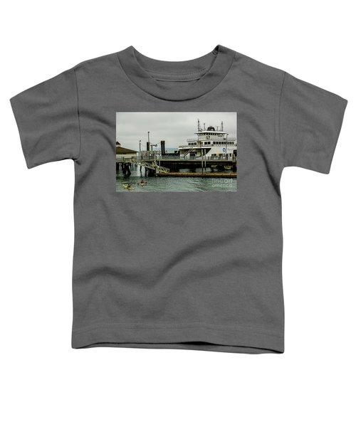 Steilacoom Ferry,washington State Toddler T-Shirt