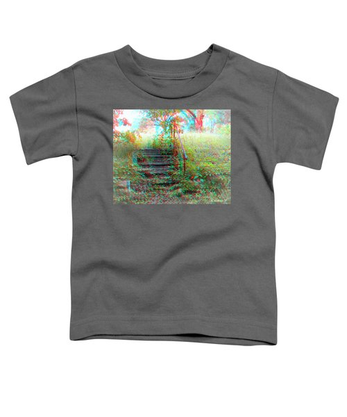 Steps To Yesterday - Use Red-cyan 3d Glasses Toddler T-Shirt