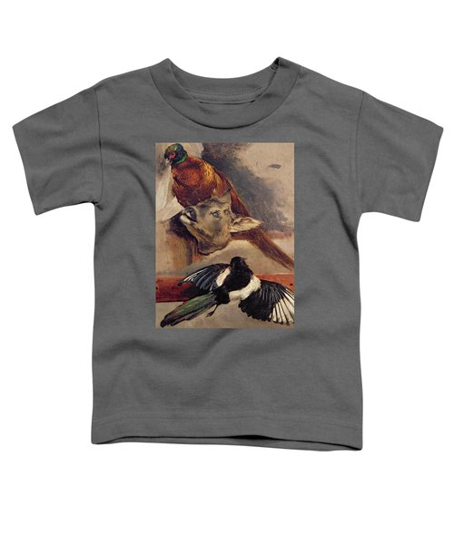 Still Life Of Game Toddler T-Shirt by Theodore Gericault