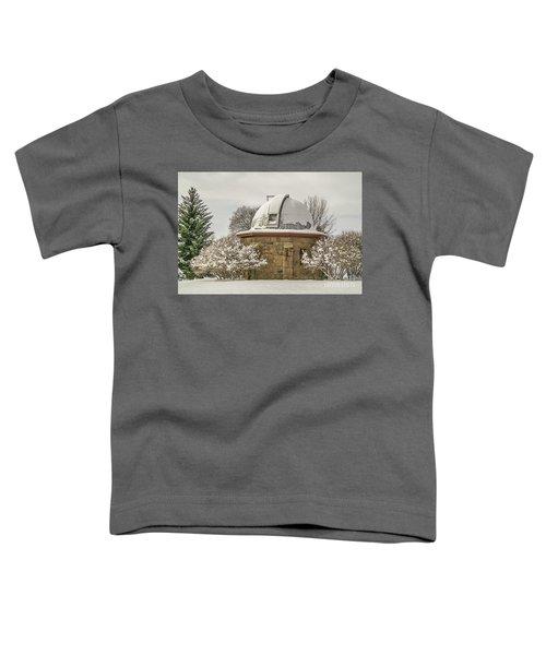 Stone Block Observatory Toddler T-Shirt