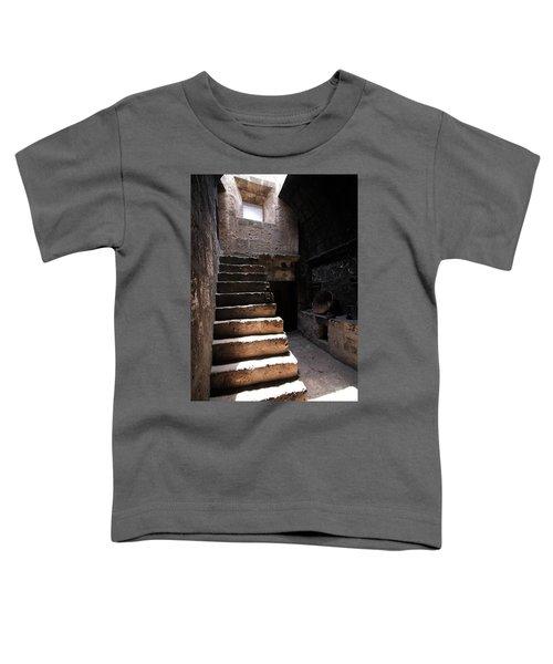 Stone Stairs At Santa Catalina Monastery Toddler T-Shirt