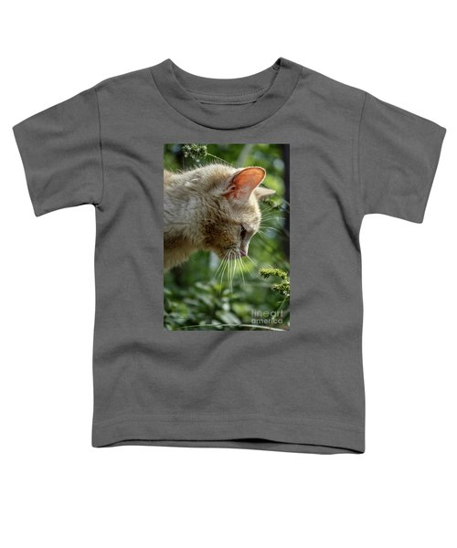 Stop And Smell The Flowers 9433a Toddler T-Shirt