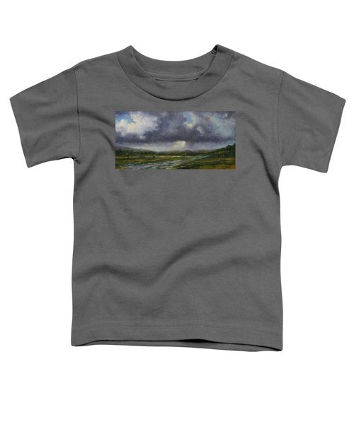 Storm Brewing Over The Refuge Toddler T-Shirt