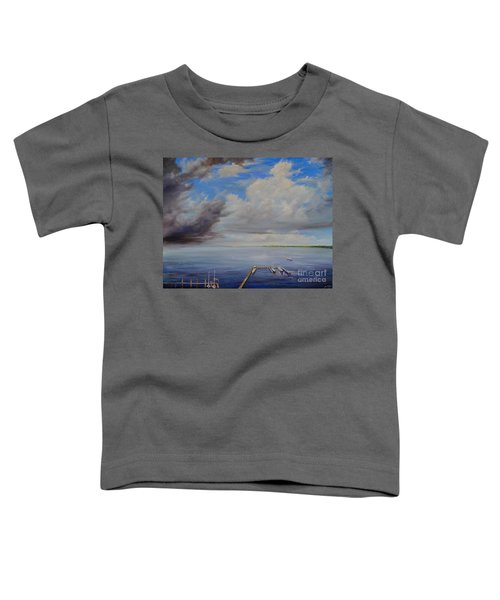 Storm On The Indian River Toddler T-Shirt