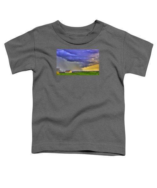 Storm Over River Toddler T-Shirt