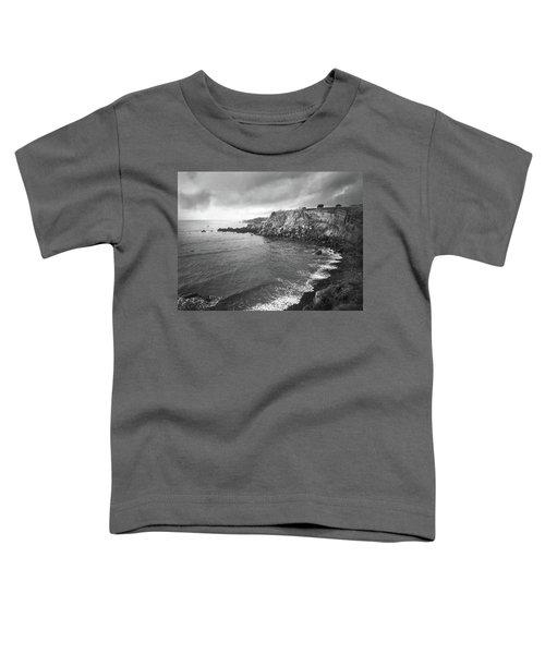 Storm Over The Eastern Shoreline Of Angra Do Heroismo Terceira Toddler T-Shirt