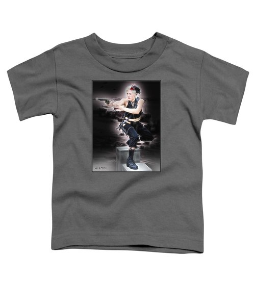Storming The Beach Toddler T-Shirt