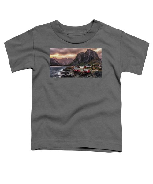 Stormy Hamnoy Toddler T-Shirt