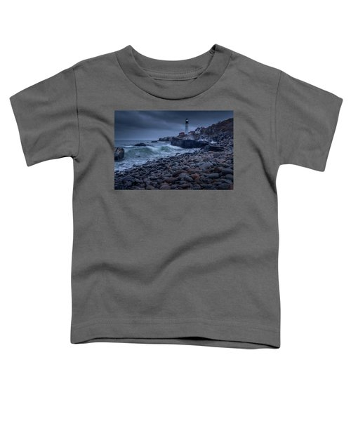 Stormy Lighthouse Toddler T-Shirt
