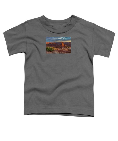 Stormy Sunset - Marlboro Point Toddler T-Shirt
