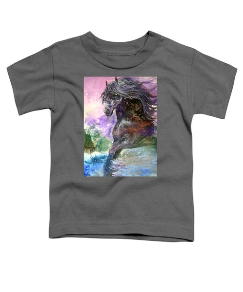 Stormy Wind Horse Toddler T-Shirt