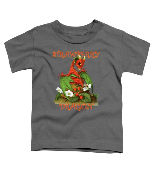 Strawberry Dragon Toddler T-Shirt