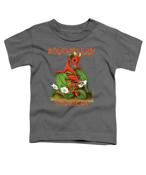 Strawberry Dragon Toddler T-Shirt