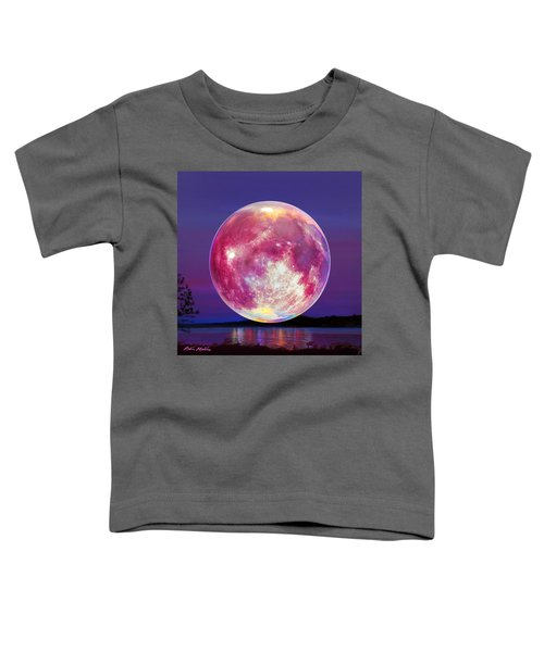 Strawberry Solstice Moon Toddler T-Shirt
