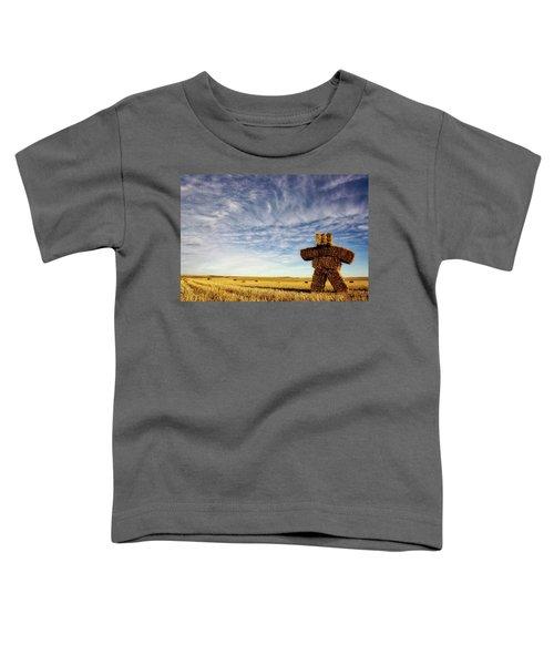 Strawman On The Prairies Toddler T-Shirt