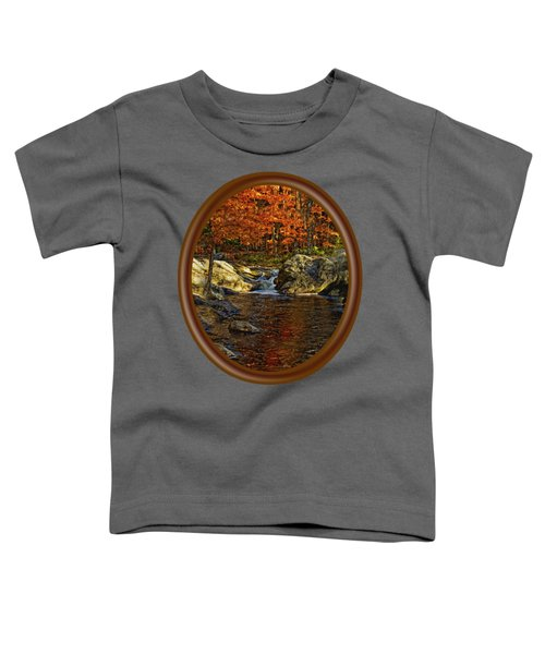 Stream In Autumn 58 Toddler T-Shirt