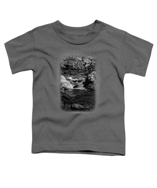Stream In Autumn No.18 Toddler T-Shirt by Mark Myhaver