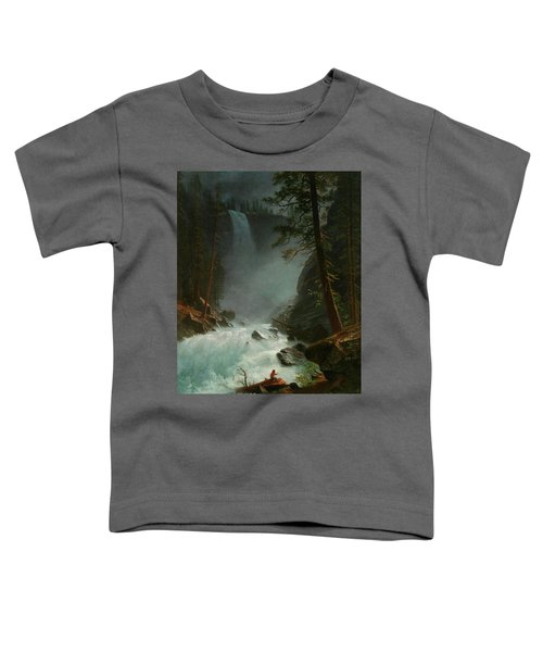 Stream In The Rocky Mountains Toddler T-Shirt