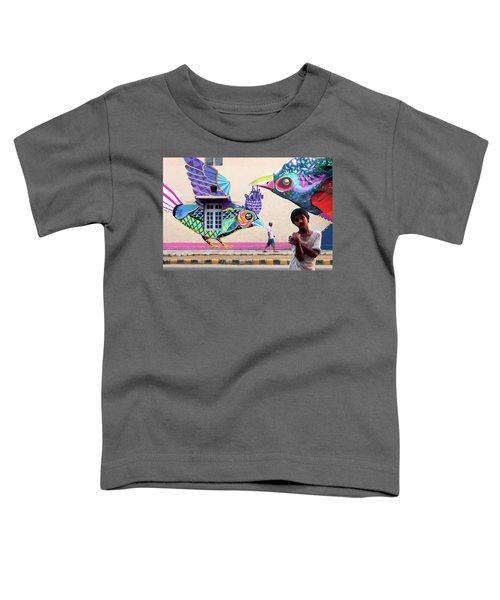 Street Art Toddler T-Shirt