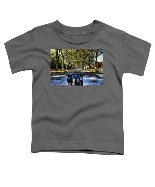 Street Cows Toddler T-Shirt