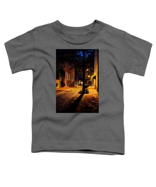 Street In Olde Town Philadelphia Toddler T-Shirt
