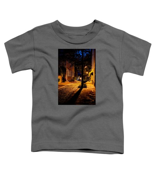 Street In Olde Town Philadelphia Toddler T-Shirt