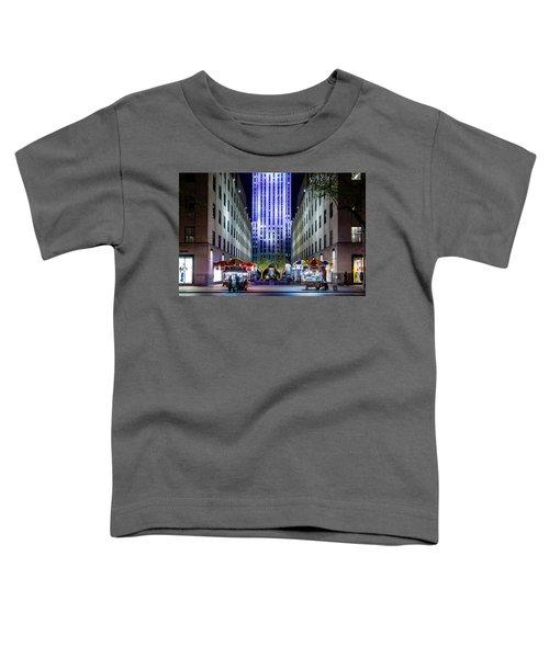 Rockefeller Center Toddler T-Shirt