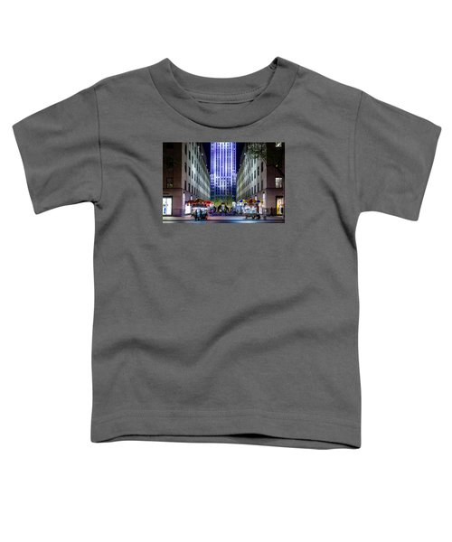 Rockefeller Center Toddler T-Shirt