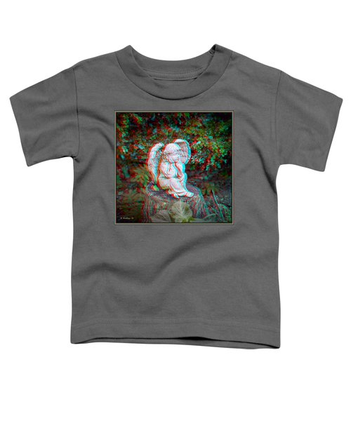 Stumped - Use Red-cyan 3d Glasses Toddler T-Shirt
