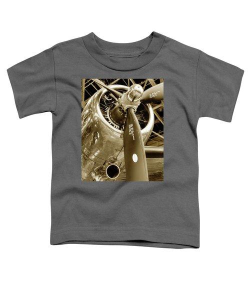 Stunning Propeller In Sepia Toddler T-Shirt