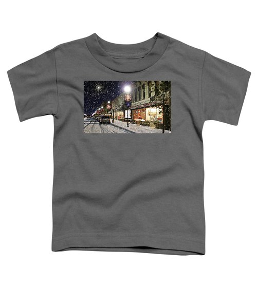 Sturgeon Bay On A Magical Night Toddler T-Shirt