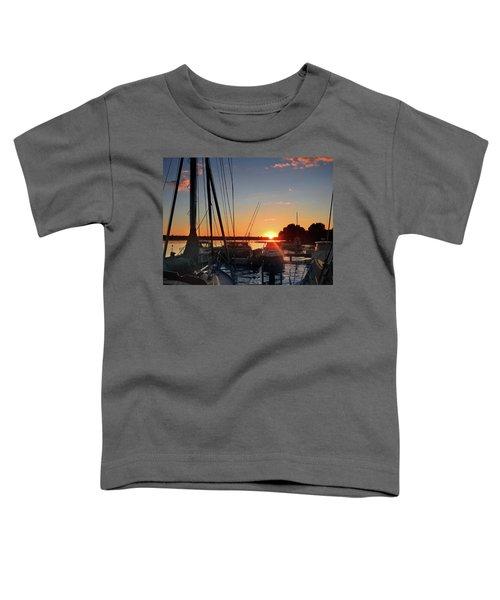 Sturgeon Bay Sunset Toddler T-Shirt