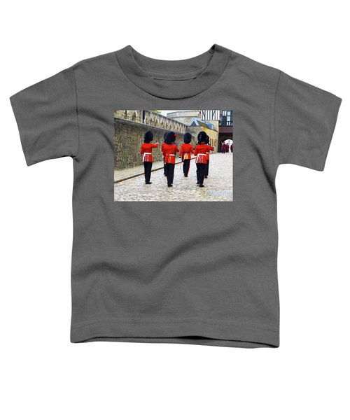 Step Aside For The Tower Guard Toddler T-Shirt