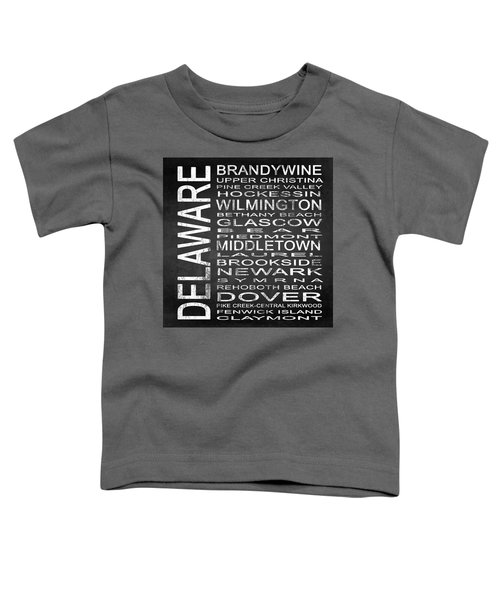 Subway Delaware State Square Toddler T-Shirt