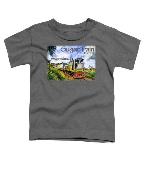 Sugar Train St. Kitts Shirt Toddler T-Shirt